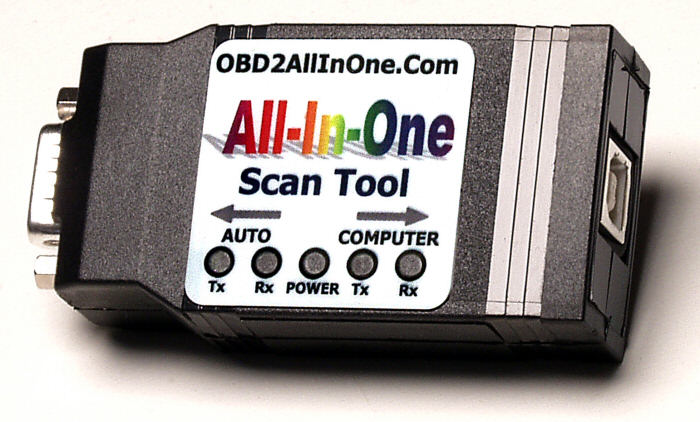 OBD Diagnostics, Inc  - OBD2 All-In-One Scan Tool w/ USB